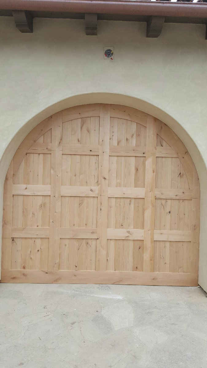 Dana Point wood door